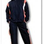 Calça de elástico em microfibra + Jaqueta masculina sem fibra e com elástico nos punhos em microfibra.
